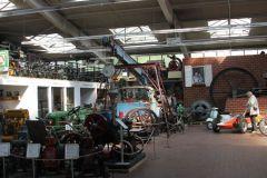 eine Ausstellungshalle