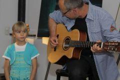 Gottfried Lehr mit Tochter