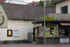 Kiosk mit Wohnhaus