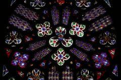 Katharinenkirche - Lilienfenster