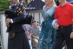 Auftritt bei Hofe - König Stöhr mit Quellenkönigin