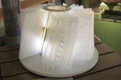 Leuchtobjekt - in Form einer Kuchenform - MeiOma