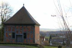 Brunnenhaus noch mit Antriebsrad