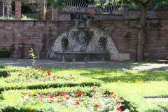 Medusenbrunnen im Bürgergarten