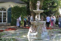 Nebbiensches Gartenhaus mit Florentiner Brunnen