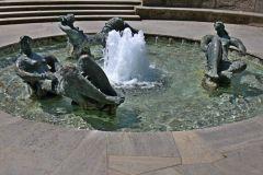 Marshall-Brunnen zu Ehren des US-Außenministers George C. Marshall (Mashall-Plan)