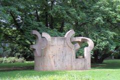 »Ein Haus für Goethe« des baskischen Bildhauers Eduardo Chillida