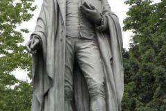 Schiller-Denkmal 1859 von Johannes Dielmann