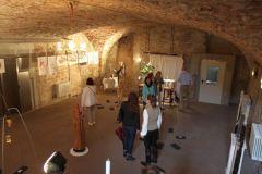 Kunsttage 2014 - Ausstellungsraum im Keller