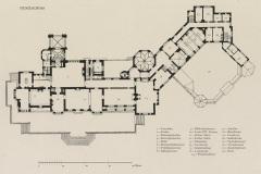 002 Schloss_Friedrichshof_Gesamtgrundriss_Erdgeschoss_1895