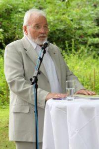 Jockel Schatz - ein wesentlicher Initiator der Auenkunst